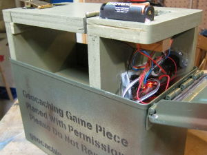 Inserting Shave and a Haircut into an Ammo Can